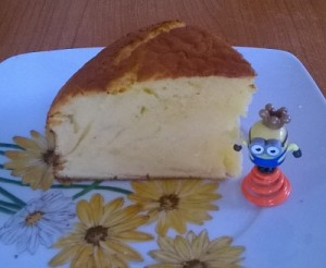 Κέικ γρήγορο και εύκολο με ζαχαρούχο